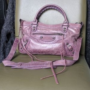 Jolie Femme Motorcycle City Bag Balenciaga Dupe